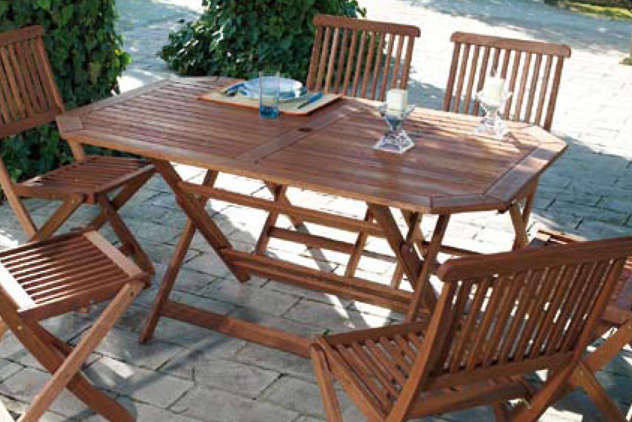 Mesas de jardin madera un espacio de relax en el jardin for Mesas de madera para jardin