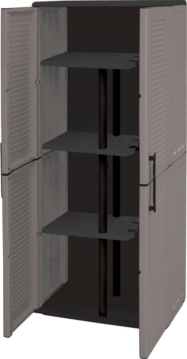 Armario de resina escobero armarios de resina aki incredible exterior with regard to motivate - Mueble escobero carrefour ...