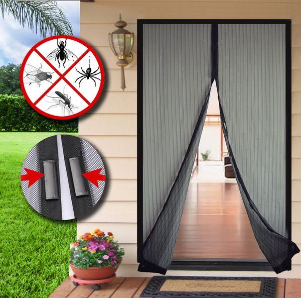 Cortinas magneticas pack de cortinas mosquiteras - Mosquitera con velcro ...