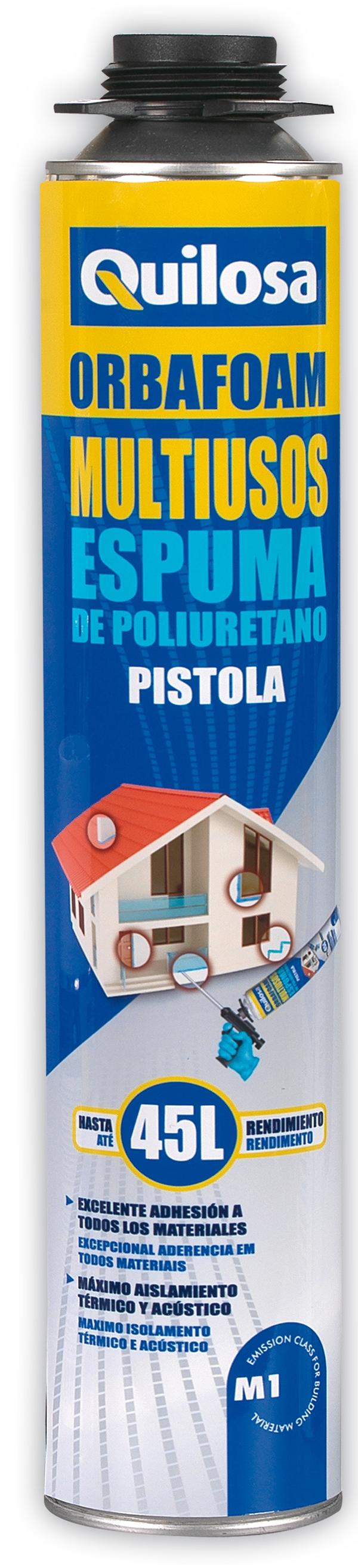 3544b503fed Espuma poliuretano Orbafoam multiusos 750 ml Quilosa   adhesivos ...