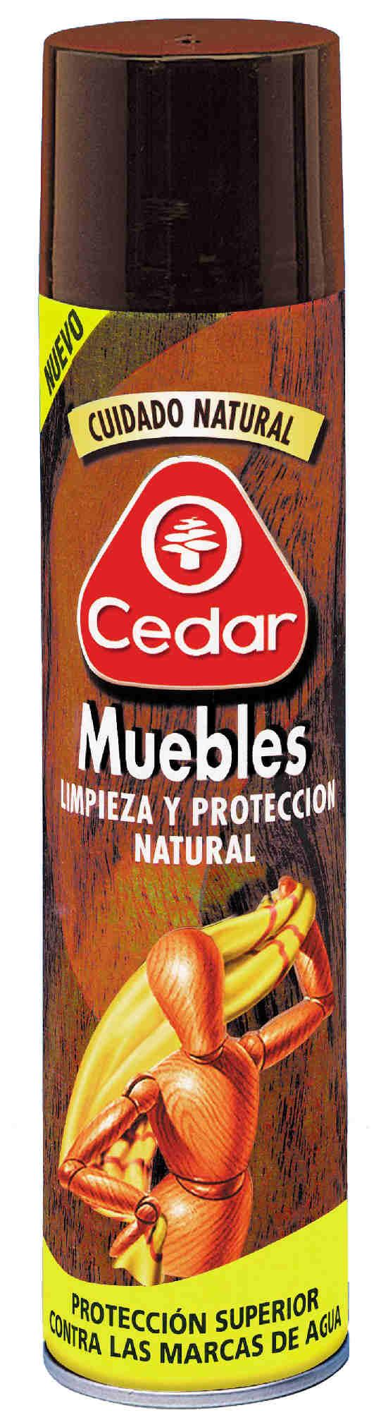 Limpiador muebles cuidado madera aerosol 400 ml 425710 Ocedar ...