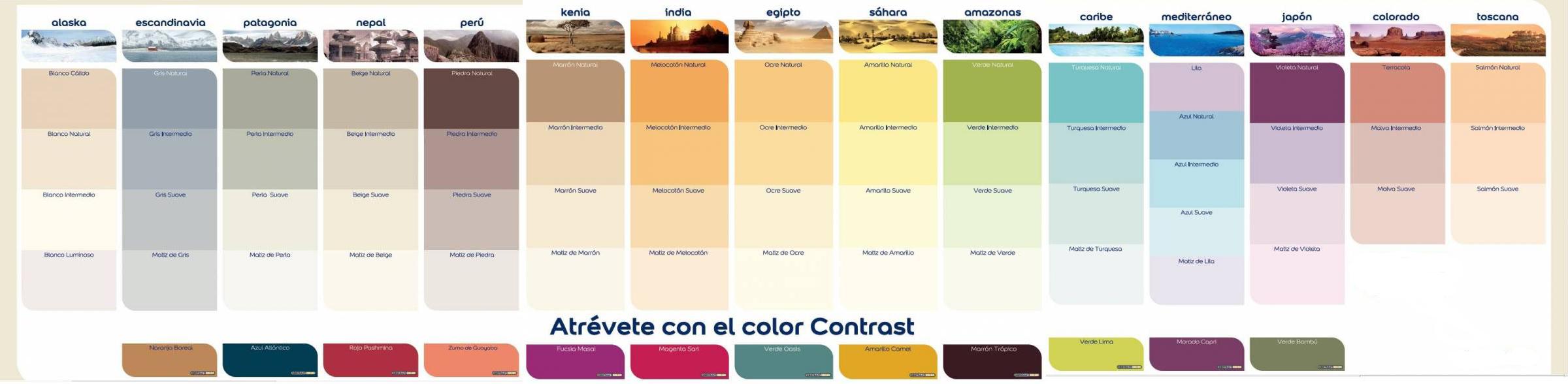 Colores de pintura colores de pintura para banos carta for Pintura color azul piedra