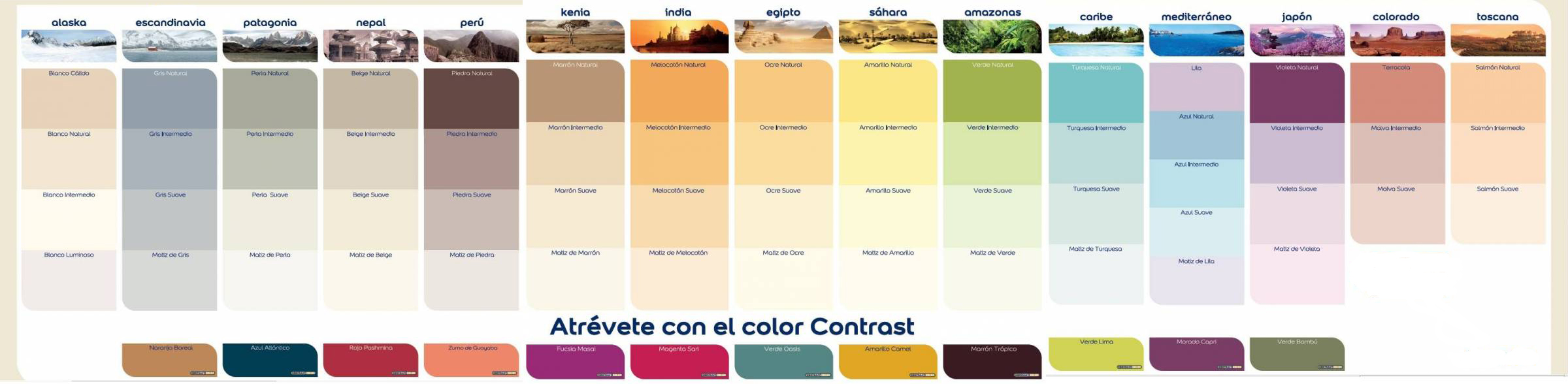 Colores pinturas carta de colores economica tienes un for Pintura color lino