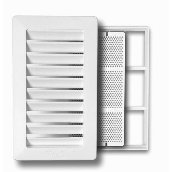Rejilla Ventilacion Baño | Rejilla Bano Marco Mosquitera 14x24cm Shunt B70980b Brinox