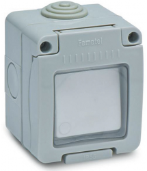 Interruptor estanco 10A IP-55 Famatel