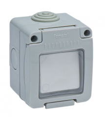 Interruptor estanco con luz 10A IP-55 Famatel