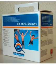 Kit mantenimiento mini-piscinas 202102 Quimicamp