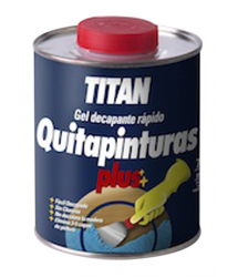 Quitapinturas Gel Plus 375ml. Titan