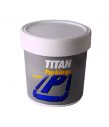 Pintura parking rojo 4L Titan