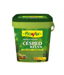 Abono césped Organic Complet 4 kg. 10522 Flower