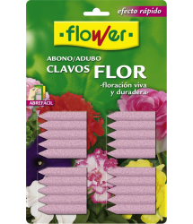 Abono soluble clavos fertilizantes flor 20u 10506 Flower