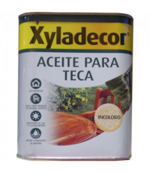 Aceite teca incoloro 750 ml. 5089084 Xyladecor