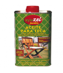 Aceite teca color miel 750 ml. 0630103 Xylazel