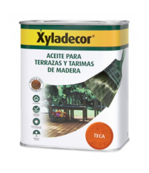 Aceite teca color teca  5L 5089086 Xyladecor
