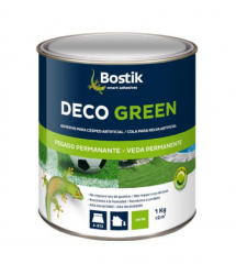 Adhesivo césped artificial Deco Green 1kg. 30606979 Bostik