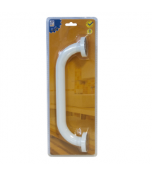 Asidero baño recto 30cm. acero inox blanco PH0830 Profer Home