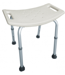 Asiento taburete ducha regulable 35 - 55cm. Ponny Interbath