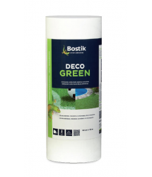 Banda unión césped Deco Green blanca 300mm.x10m. Bostik