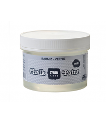 Barniz mate acabado Chalk Paint 750ml Titan ARts
