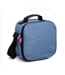 Bolsa fiambrera + herméticos Urban Food Denim Blue SRP3 1167514