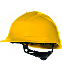 Casco protección ajustable amarillo quartzup3 Venitex