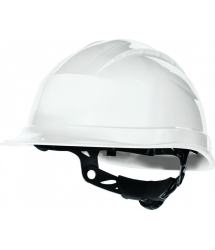 Casco protección ajustable blanco quartzup3 Venitex
