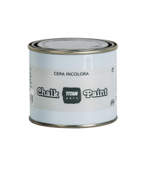 Cera incolora acabado para muebles Chalk Paint 750ml Titan Arts