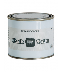 Cera incolora acabado para muebles Chalk Paint 250ml Titan Arts