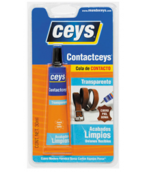 Cola de contacto Transparente uso general 30ml 503601 Ceys