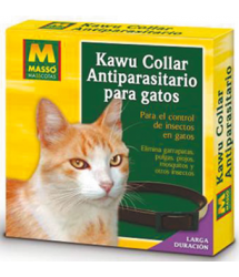 Collar antiparásitos gato 231215 Masso