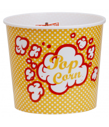 Cubo bol palomitas Pop Corn Retro 3,5l. 20x17cm. MG2051 CMP