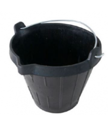 Cubo goma industrial 10l. PT0230 Profer Top