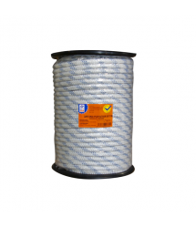 Cuerda driza nylon blanco/azul 6mmx200m PH0708 Profer Home