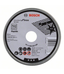 Disco corte recto inox 115x1mm 10u. 2608603254 Bosch