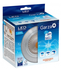 Downlight orientable LED COB 7w 85x50mm aluminio 400622 Garza