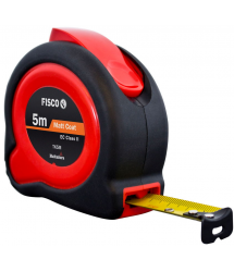 Flexómetro Anti-impacto Tuf-Lok 5m.x19mm. Fisco