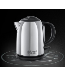Hervidor líquido compacto 1l 2200w Chester 2019070 Russell Hobbs