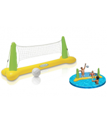 Juego volley hinchable piscina 239x64x91cm. 56508NP Intex