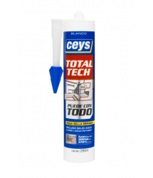 Masilla Total Tech 290ml. Blanco 507216 Ceys