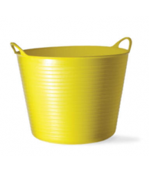 Mini cubo flexible multiusos amarillo 0.37L Tubtrugs
