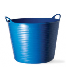 Mini cubo flexible multiusos azul 0.37L Tubtrugs
