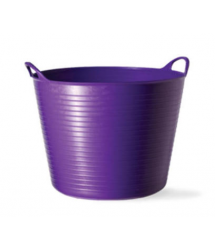 Mini cubo flexible multiusos violeta 0.37L Tubtrugs