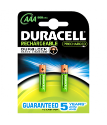 Pila recargable Duralock Stay Charge LR03 AAA 2u. Duracell