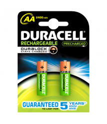 Pila recargable Duralock Stay Charge LR06 AA 2u. Duracell