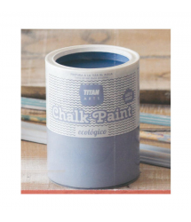 Pintura ultramate Chalk Paint Gris Rock and Roll 750ml Titan