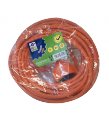 Prolongador cable naranja Jardín 10m PG0317 Profer Green