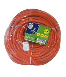 Prolongador cable naranja Jardín 25m PG0138 Profer Green