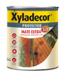 Protector madera Extra 3 en 1 mate Nogal 5l 5153009 Xyladecor