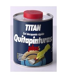 Quitapinturas Gel Plus 750ml. Titan